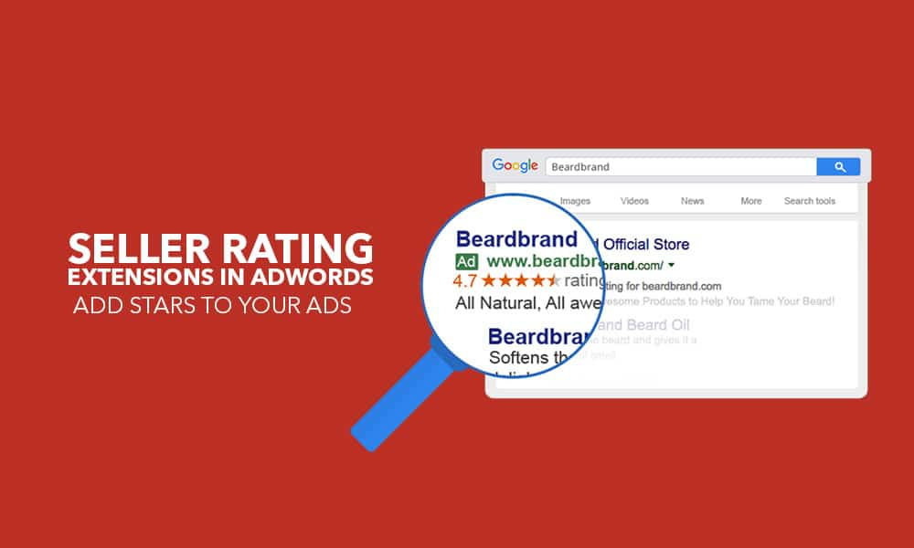 seller rating extensions in adwords - add stars to your ads