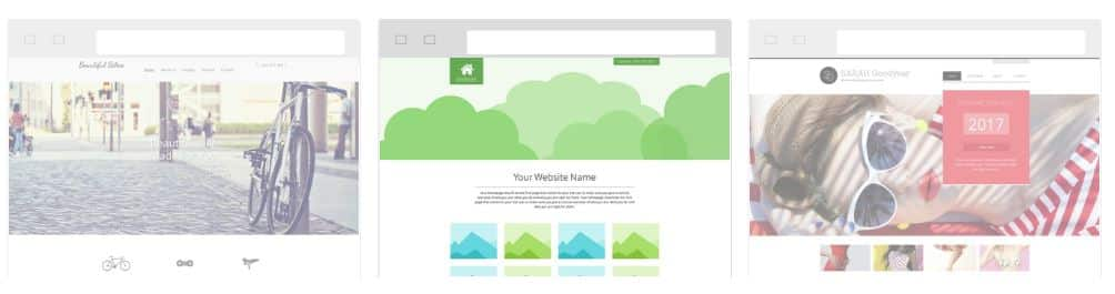 The ipage site builder