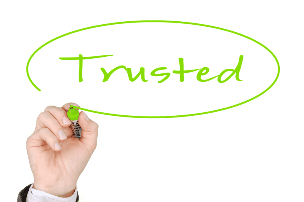 Website security seals are all about creating trust