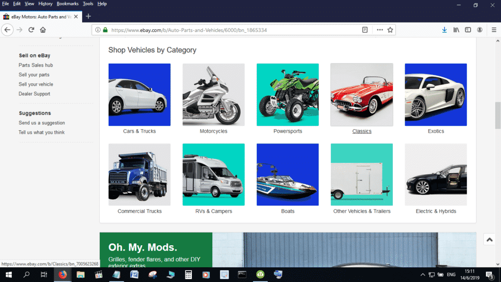 Use eBay Motors to reach out to an international audience for your dealership