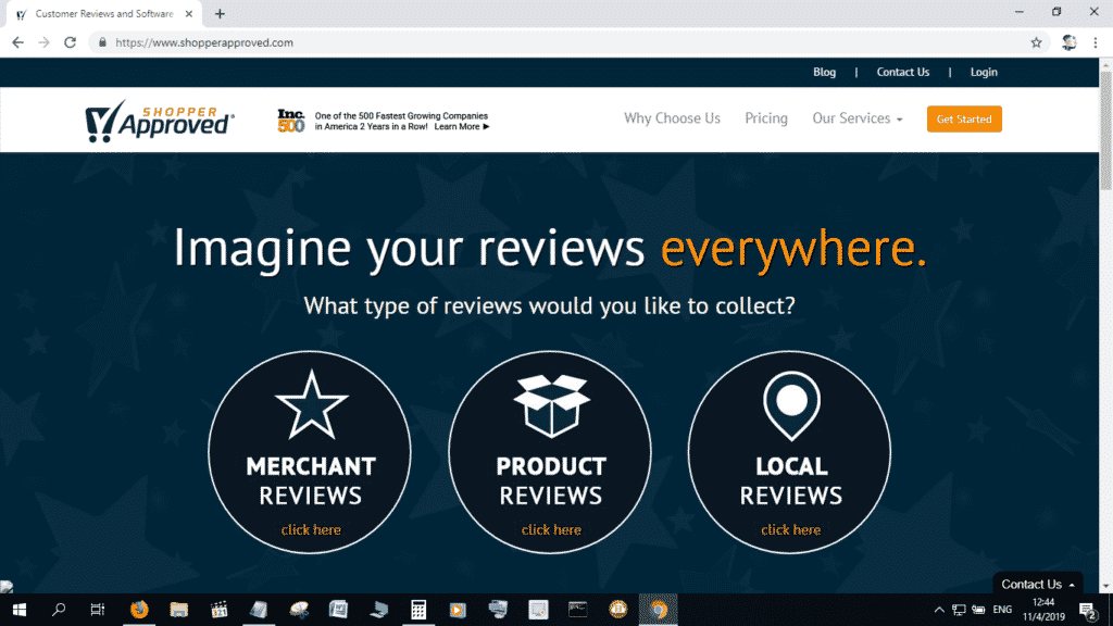 Shopper Approved can get you Seller Ratings for your Shopify eCommerce site