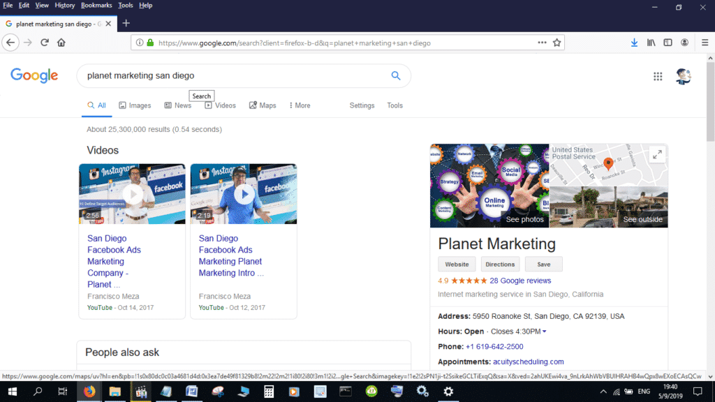 Google Reviews for Planet Marketing