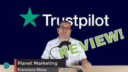 YouTube video review on Trustpilot