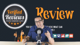 YouTube video review on Verified Reviews