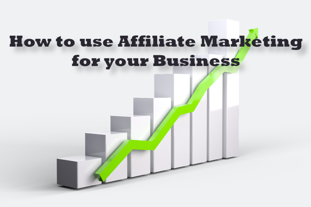 how to use affiliate marketing for your business