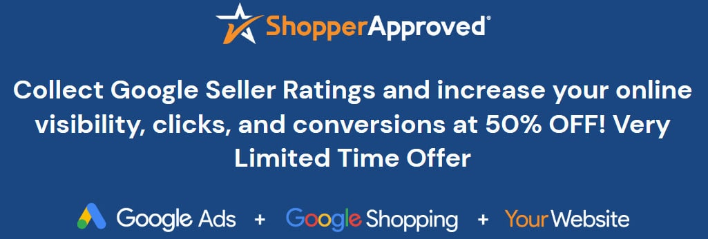 Click to get Shopper Approved
