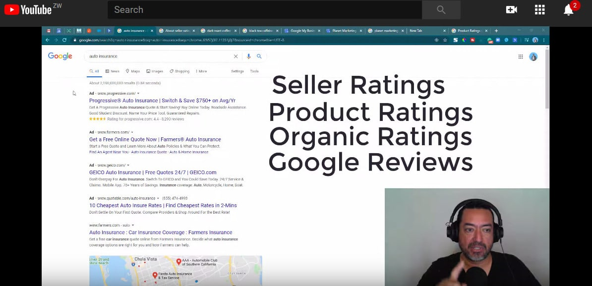 The 4 types of Google Ratings