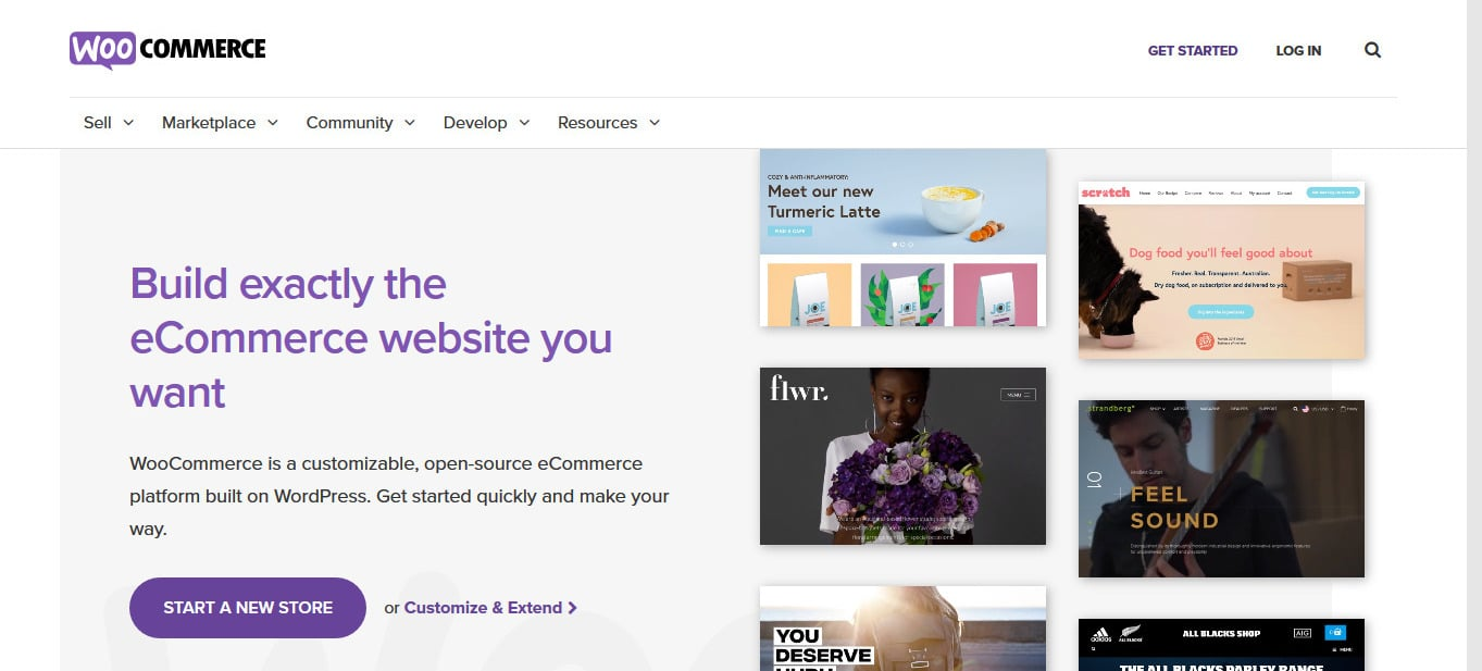 WooCommerce is great for beginners since it is free