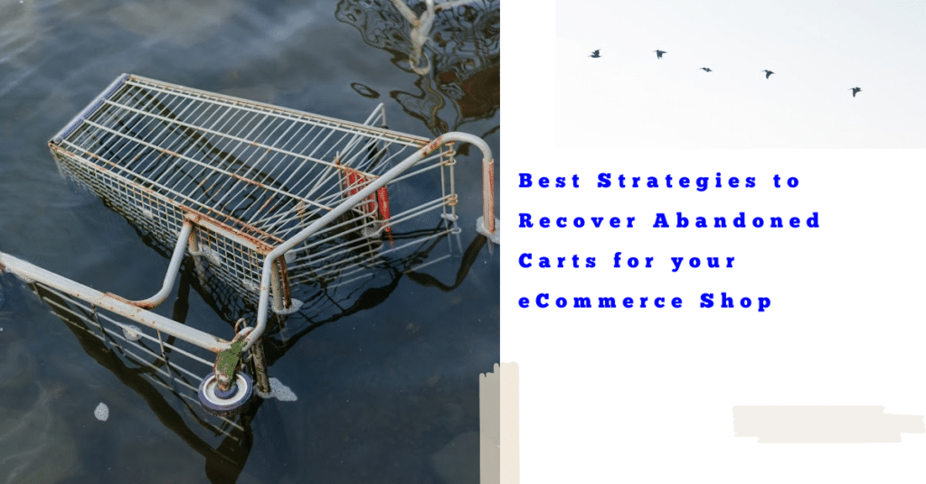 Best Strategies to Recover Abandoned Carts for your eCommerce Shop