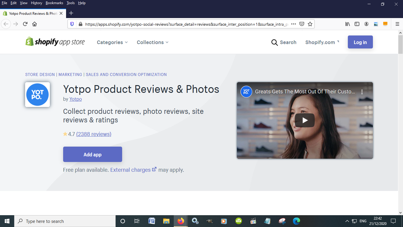 Yotpo Product Reviews & Photos is a great Shopify app to boost sales for eCommerce