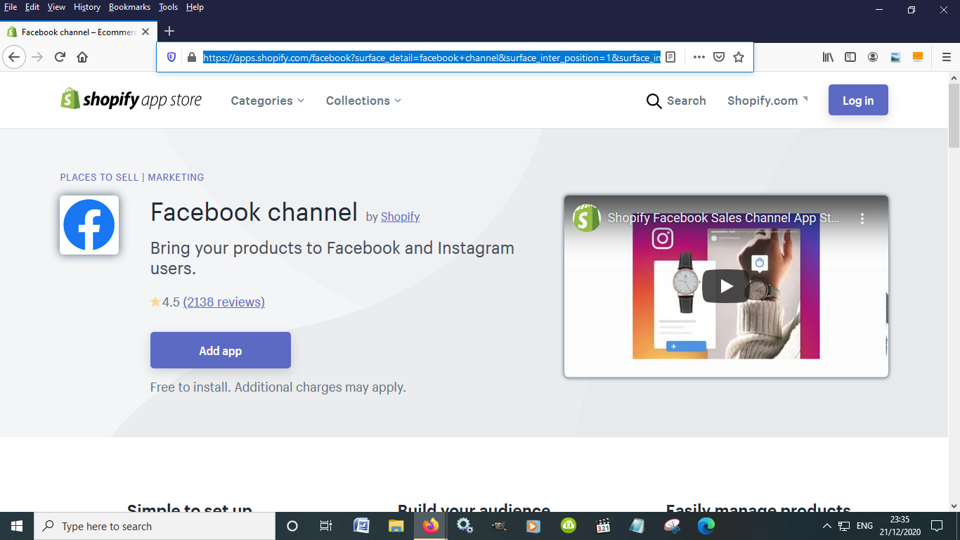Facebook Channel takes your shop to Facebook and Instagram