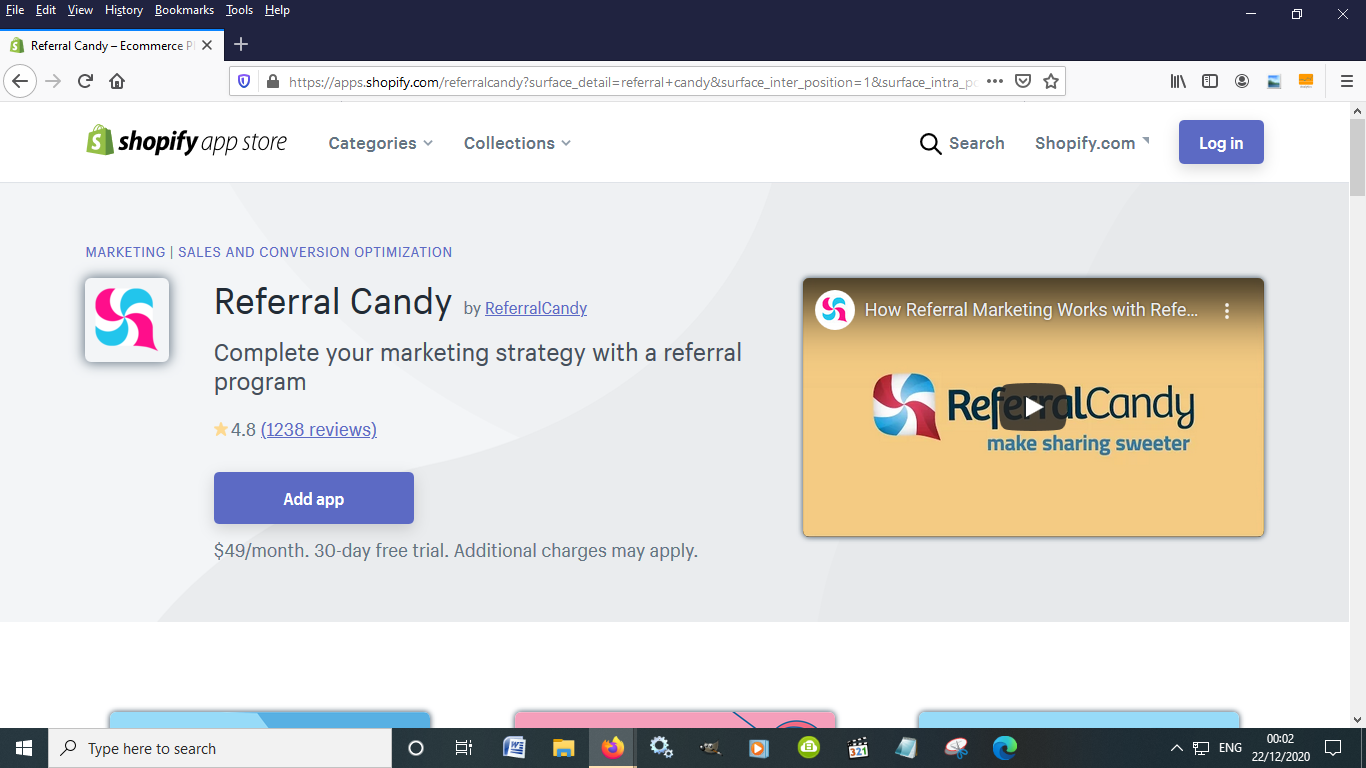 Run a referral program with Referral Candy