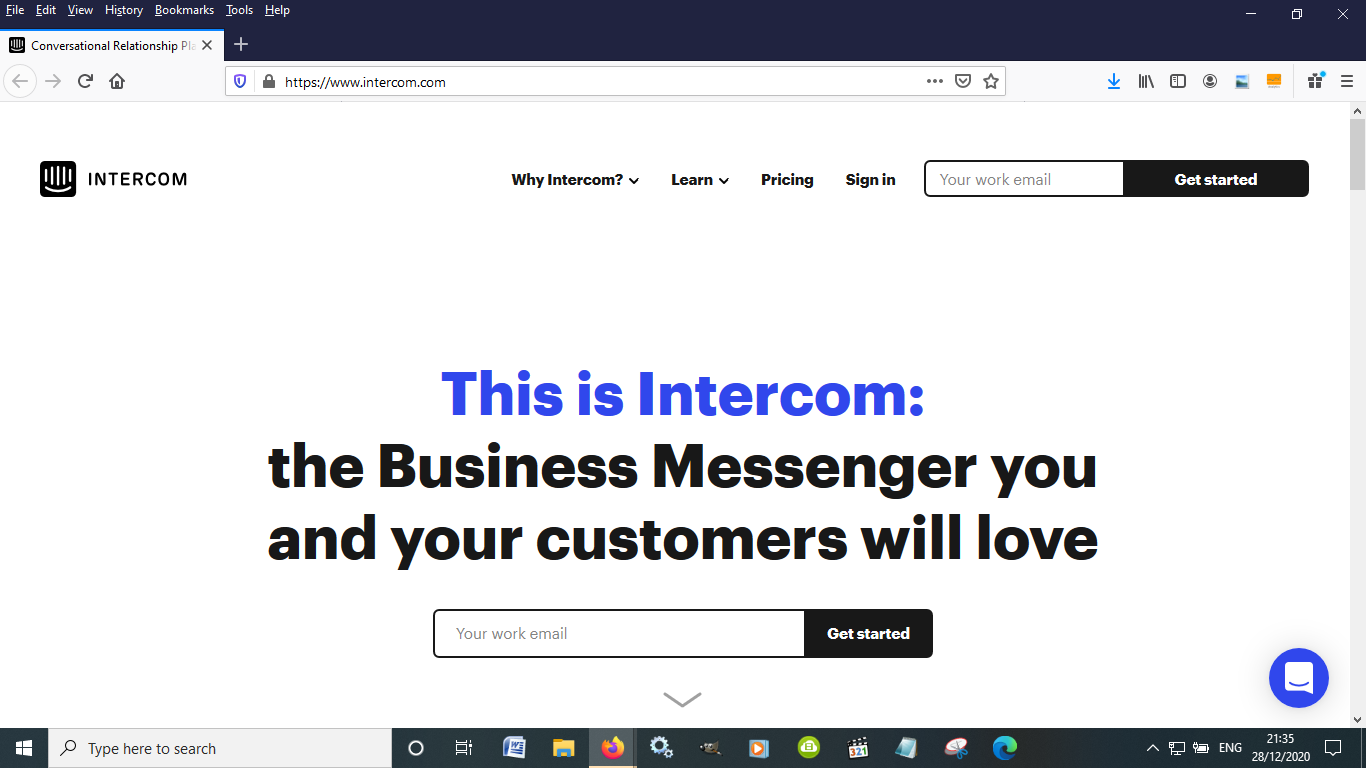 Intercom offers an integrated approach to customer support