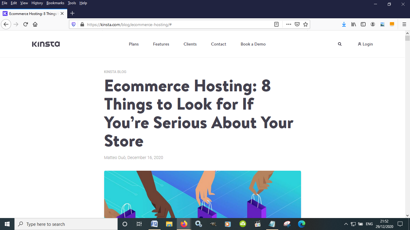 Kinsta is a good option for eCommerce businesses