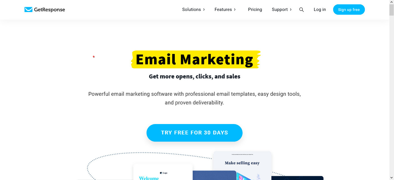 GetResponse is another good tool to automate email marketing