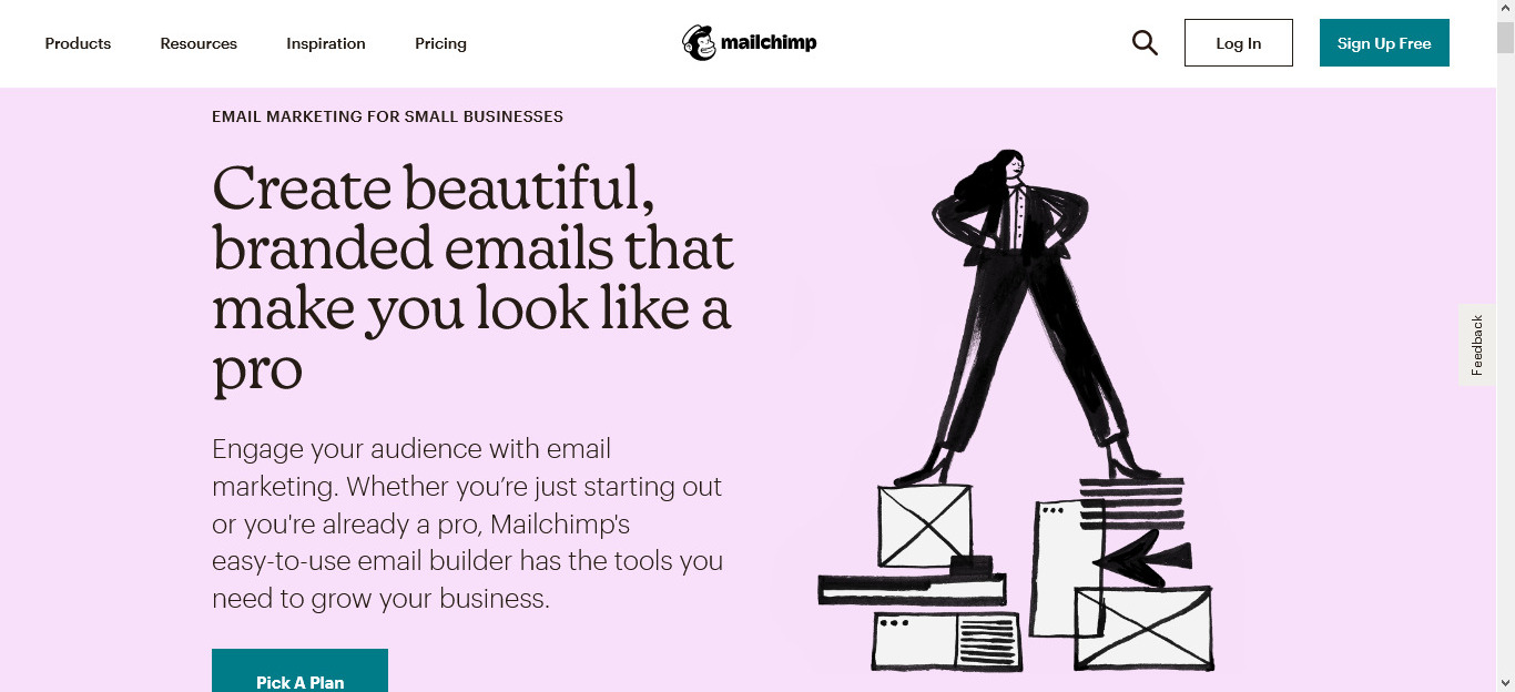 Mailchimp is a great email marketing automation tool