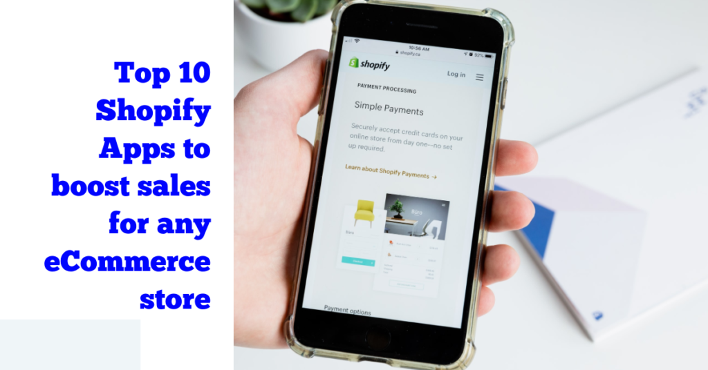 hopify Apps to Boost Sales for any eCommerce Store
